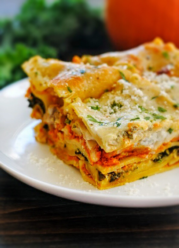 Pancetta, Kale & Butternut Squash Lasagna | Railroad Wife