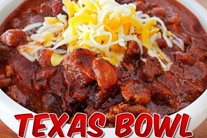 Texas Bowl O Red Railroad Wife